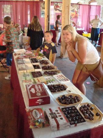 The Chocolate Factory(Ganong Chocolates) in St. Stephen, New Brunswick, Ca.