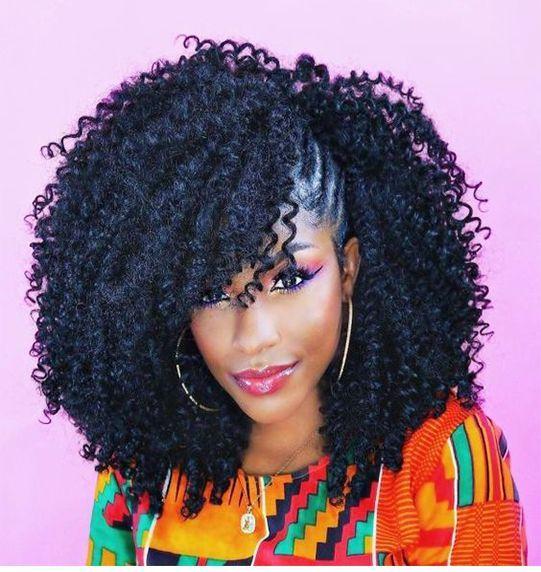 10+ idées de coiffures au crochet   – hair styles