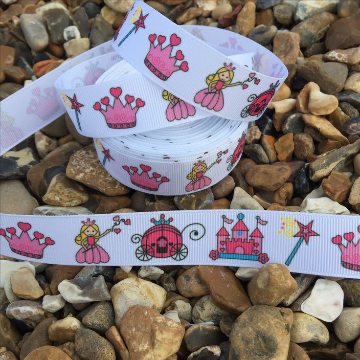 Fit for a princess! 👑👸🏼💗 Pretty pink ribbon 75p per metre. Available on the website www.mrsbellesboutique.co.uk 💗