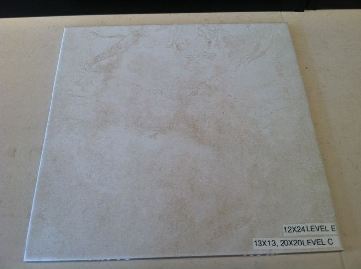 Bath 3 wall tile 13x13 set straight w deco band hewett for 13x13 floor tile