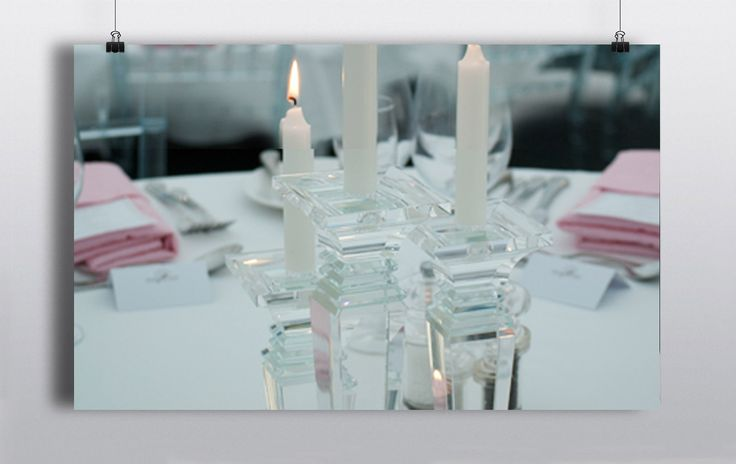 Beautifully opulent crystal candle sticks which work perfectly as table centre pieces. Can be rented as a set of 3 standing at 3 different heights or they can also be rented individually http://www.prophouse.ie/portfolio/crystal-candle-sticks/