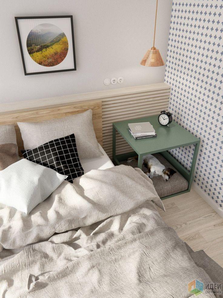 Интерьер в скандинавском стиле, светлая спальня фото, спальня скандинавский стиль
