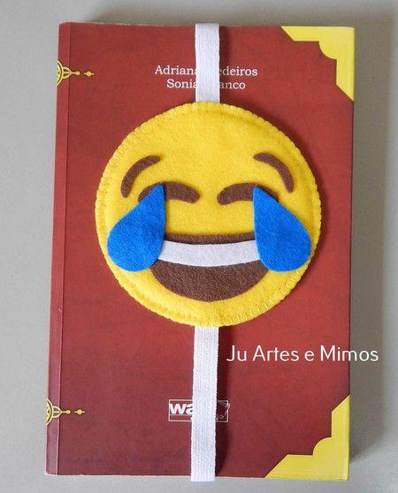 Marcador de páginas emoji