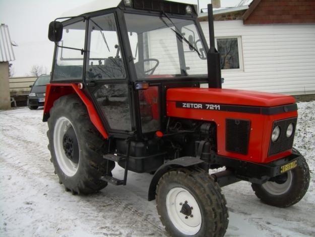 Zetor 7211. My grandpa's tracktor. I like these vehicles.
