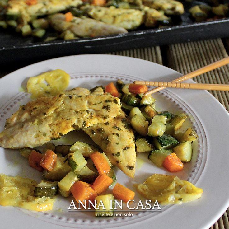 Solo 30 minuti per una ricetta strepitosa  - Pollo speziato al limone  http://annaincasa.blogspot.it/2017/05/pollo-speziato-al-limone.html #annaincasa#annaincasablog