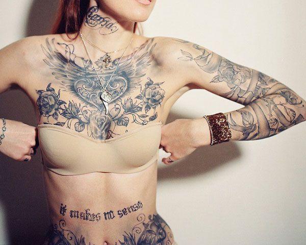 Breast Tattoos Designs - Tattoo Designs For Women!