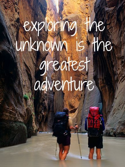 The Best Hikes In The US. #Travel Inspiration The Narrows