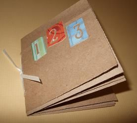 Accordion Notebook Craft Kids