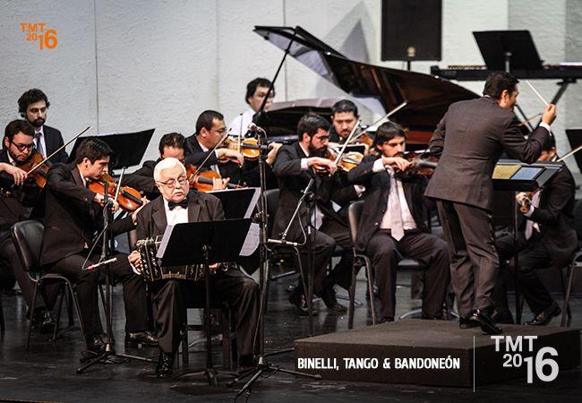 Daniel Binelli, Orquesta Filarmónica de Temuco, TMT2016