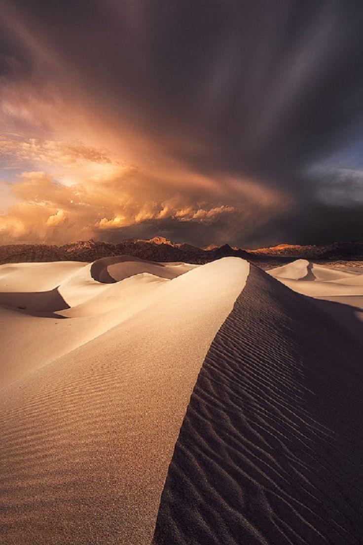 Mesquite Sand Dunes, California.Ted Gore