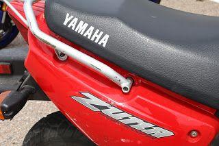 OldMotoDude: Yamaha Zuma Sport Scooter at Pueblo Motorsports Park Track Day -- Pueblo, Co.