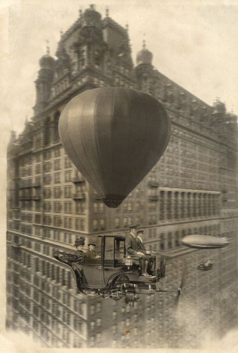 1912 Flying Car Concept