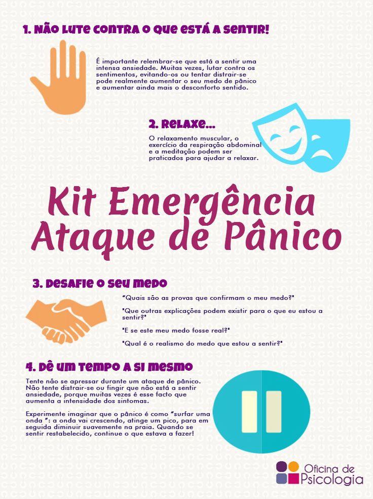 O que fazer em caso de pânico? #oficinadepsicologia                                                                                                                                                      Mais