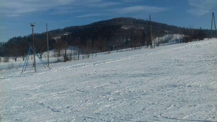 odkryj wałbrzych-stok narciarski-Łomnica