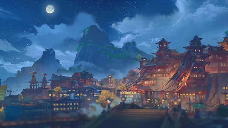 Pin by emily on genshin in 2021 anime scenery anime