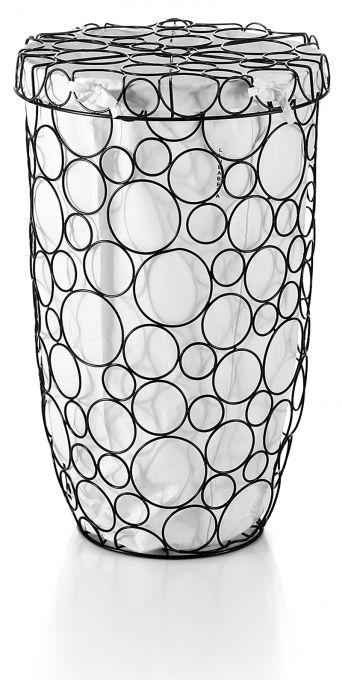 SECIONI - Handmade iron laundry basket LINEABETA