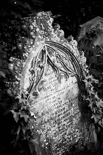 """Nunhead Cemetery.. They just don""""t make Headstones like this anymore..."""