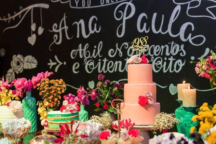Festa de aniversario ana paula Siebert