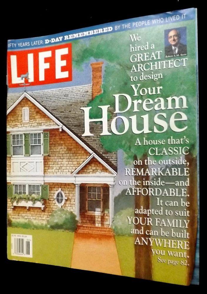 Great Architect Design Your Dream House June 1994 Life Magazine