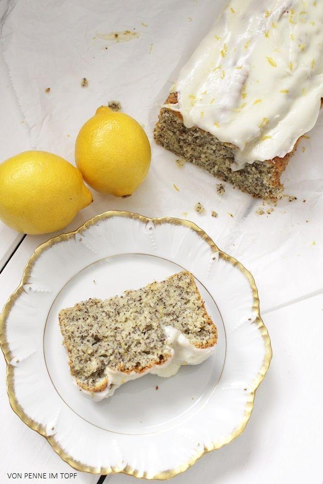 ...oder Zitronen - Mohn - Kuchen! Wie auch immer ihr ihn gerne nennen wollt: er schmeckt großartig! Zitronenkuchen ist C.'s absoluter Liebl...