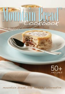 Mountain Bread Cookbook-just discovered mountain bread barley wraps and am in love! healthy alternative to tons of recipes, heres the free online cookbook for ideas