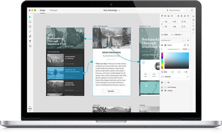 User experience, prototyping and design app | Adobe Project Comet