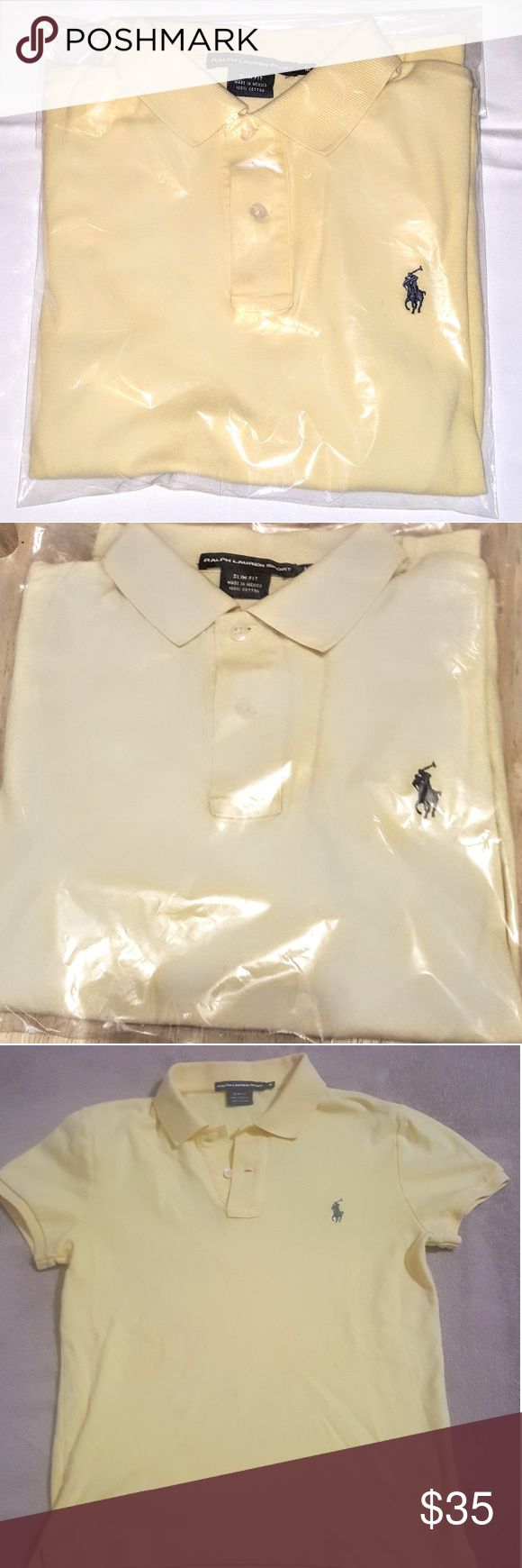 Polo Ralph Lauren - Women's Polo Shirt - M - NEW Brand New / Brand - Polo By Ralph Lauren / Style - Polo / Women's / Color - Yellow Polo by Ralph Lauren Tops