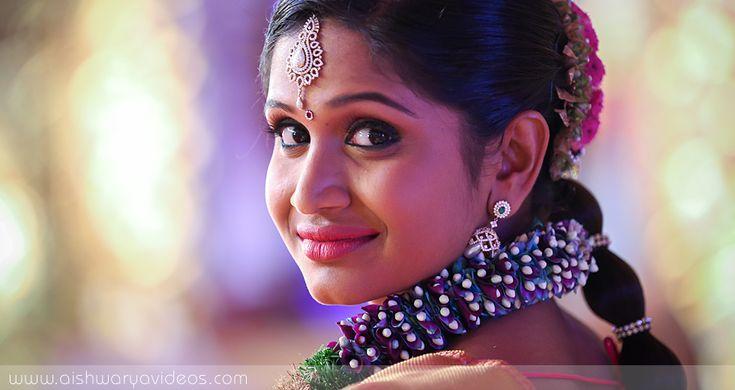 Balamurugan & Kaavyaa - wedding portrait photography - Aishwarya Photos & Videos