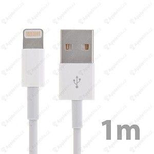 Originální synchronizační a nabíjecí kabel Lightning pro Apple iPhone / iPad / iPod - bílý - délka 1m