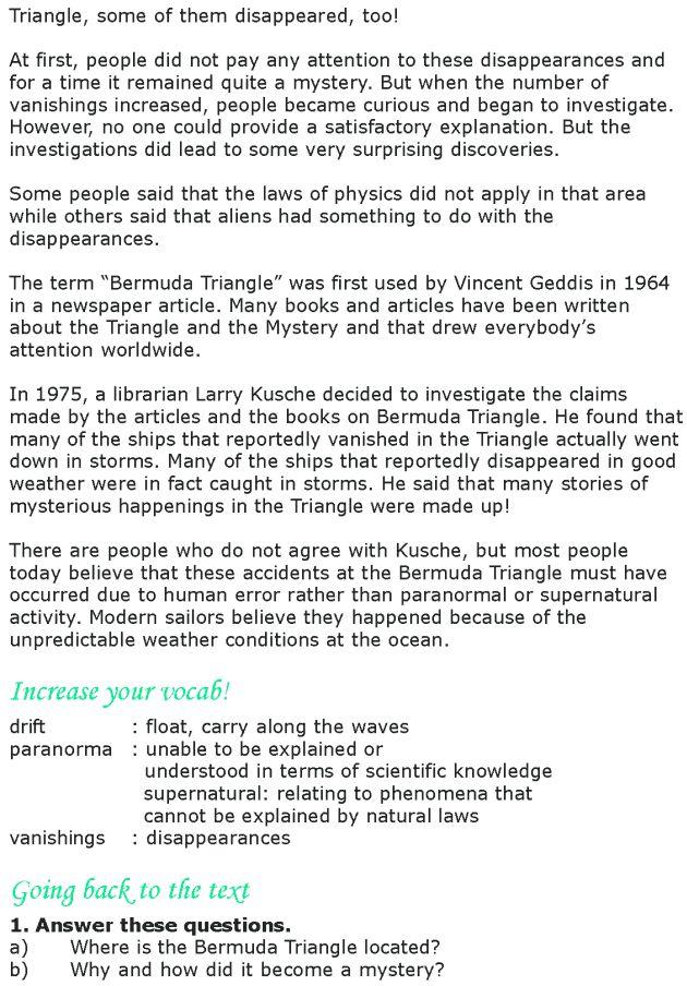 Grade 8 Reading Lesson 5 Nonfiction - The Mystery Of The Bermuda Triangle (1)