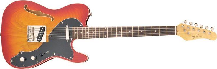Jay Turser LT CRUS DLX - Bellissima chitarra semi solid body dell\\\'americana Jay Turser, come tutta la loro produzione anche questa chitarra rifiniture e suo...