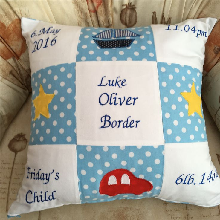 Baby birth pillow