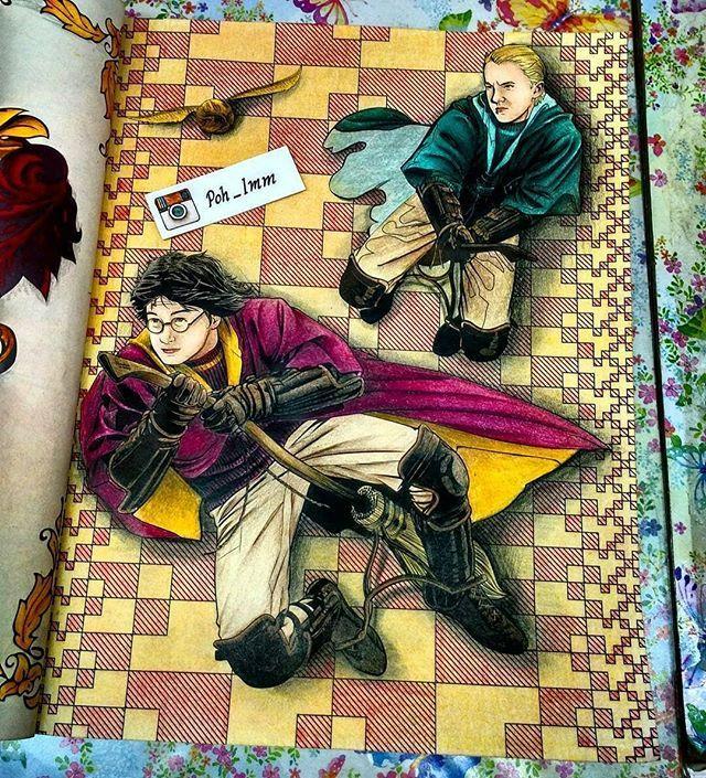 Harry Potter Fan Art Hogwartsmagicworld Instagram Photos And Videos Harry Potter Coloring Book Harry Potter Colors Harry Potter Coloring Pages