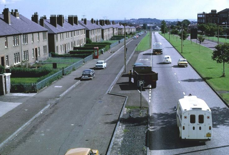 this is where my grannie lived, when she moved from Victoria road, to new council estate Kingsway East, Dundee.