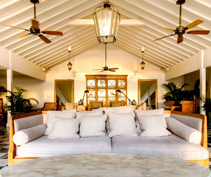Relax in the Palm Court Lounge at Sugar Beach, St Lucia, before you head into The Great Room for the freshest ingredients, prepared by the finest Chefs. http://www.sugarbeachresidences.com/