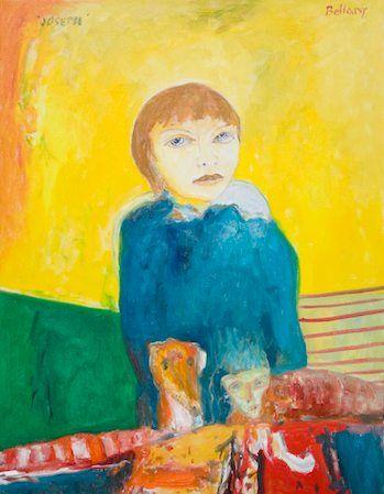 John Bellany - Joe Sparks 2009 Oil on canvas 102x76cm
