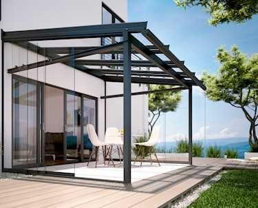 die besten 17 ideen zu terrassen berdachung glas auf. Black Bedroom Furniture Sets. Home Design Ideas
