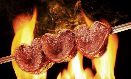 Groupon - Brazilian Churrasco  Dinner for Two or Four at Rodizio Grill Voorhees (40% Off). Groupon deal price: $44.00