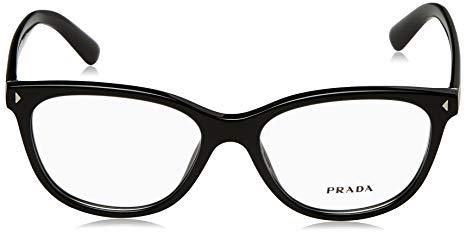 a74610148a2a Prada VPR14R Black / Clear Lens Eyeglasses | Holiday Sunglasses and ...