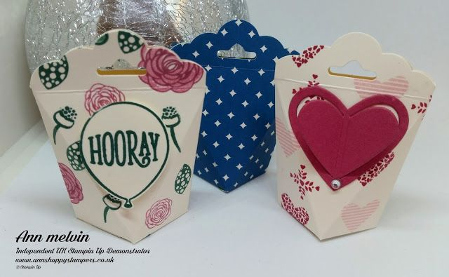Ann's Happy Stampers: Teeny Tiny Self Closing Gift Box