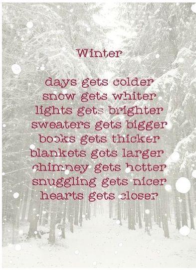 Winter......