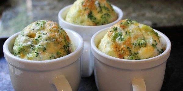 Receita de Quiche de brócolis na caneca | Show de Receitas | Aprenda a Fazer Receitas