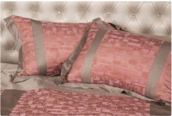 Persimmon Eco Pillow  감에코 베개 40-countthread Cotton Luxury Jacquard + Rayon 면40수 고급자카드 + 인견 40cm × 60cm      ₩78,000