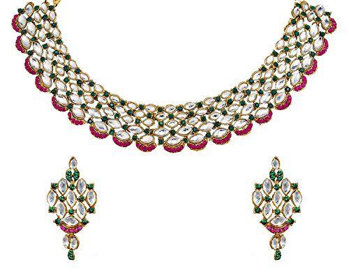 Ddivaa Traditional Pink & Green Stone Kundan Indian Bolly... https://www.amazon.com/dp/B0711LJL2S/ref=cm_sw_r_pi_dp_x_PAugzbB69MX9S