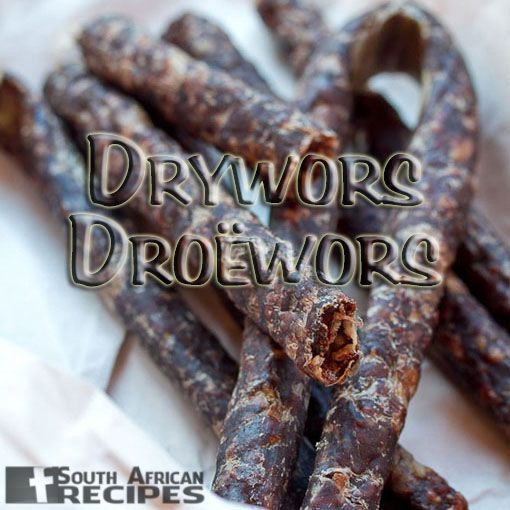 How to make Dry Wors at home