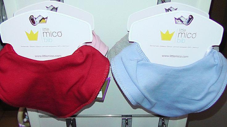 Littlemico™ Bandana Dribble Bibs packaging.