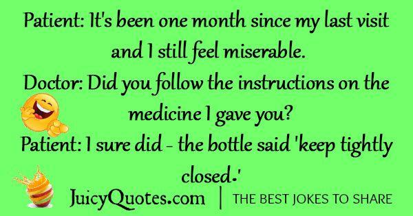 Funny Doctor Jokes -6