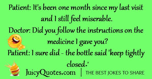 Funny Doctor Jokes -6