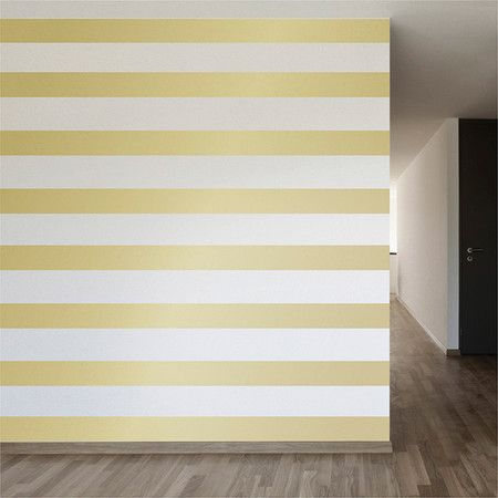 Blanket an accent wall in stunning stripes with this removable decal, or employ it on doors, drawers, and accent furniture for pops of shimmer throughout you...