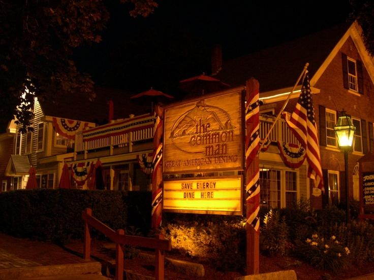 Common Man Restaurant, Ashland, NH